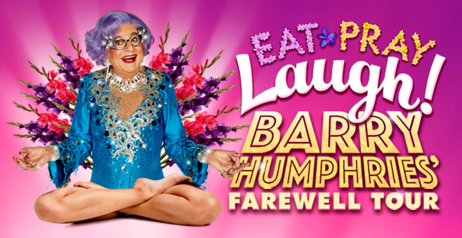 Eat Pray Laugh – Barry Humphries